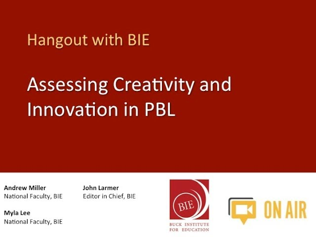 Creativity and Innovation Video Discussion in PBL