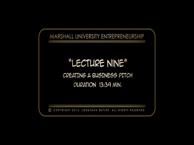 CREATIVITY and INNOVATION VIDEO LECTURE
