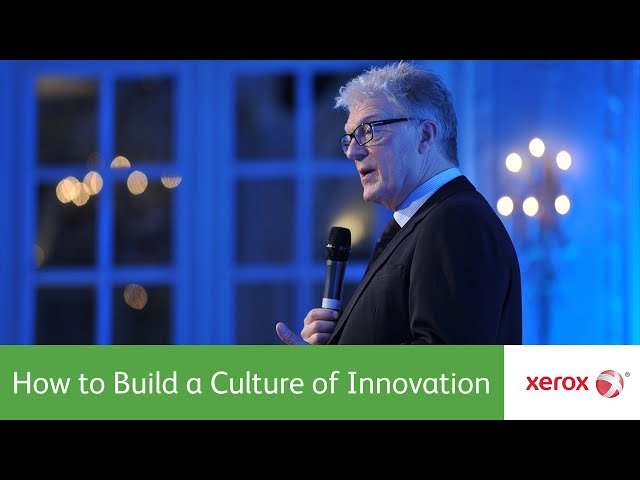 Innovation Speech: How to Build a Culture of Innovation